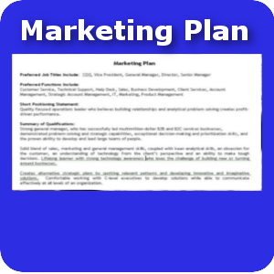 Marketing Plan small button template