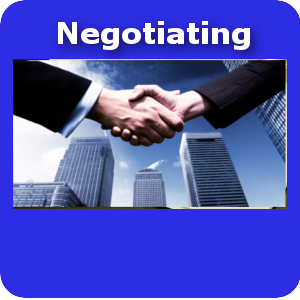 Negotiating small button template
