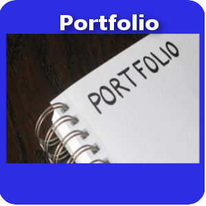 Portfolio small button template