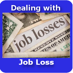 dealing with Job Loss small button template